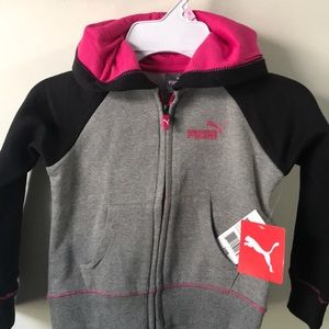 Puma sweater for baby girl 👧